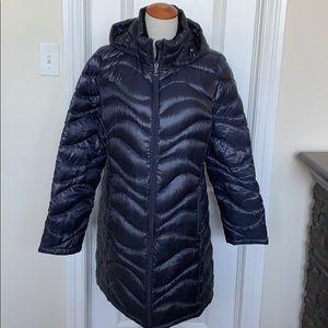 Andrew Marc Packable Lightweight Down Puffer Coat